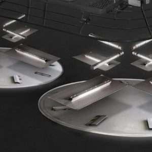 Plate 2000 Disques et truelles de finition