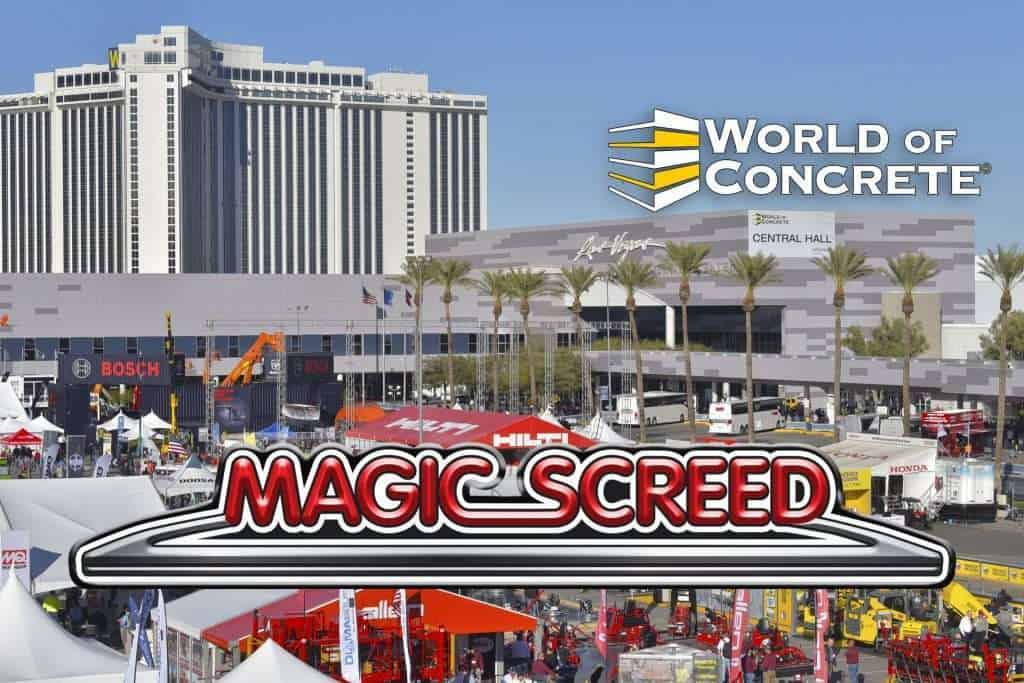 Magic Screed au World of Concrete