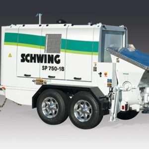 Schwing sp 750-18 pompe à béton concrete pump