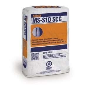 king ms-s10 scc mélange béton concrete repair