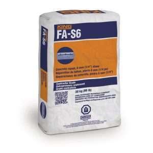 king fa-s6 mélange de béton - pre-packaged concrete