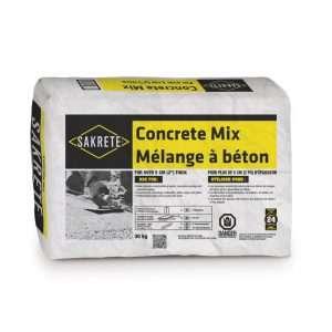 sakrete mélange à béton - concrete mix